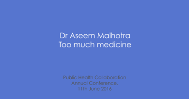 PHC Annual Conference 2016 – Dr Aseem Malhotra