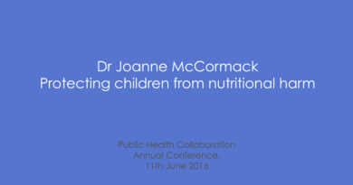 PHC Annual Conference 2016 – Dr Joanne McCormack