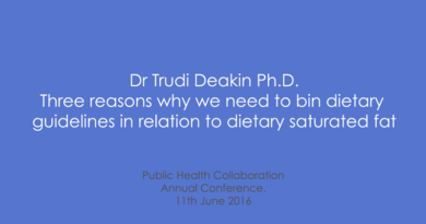 PHC Annual Conference 2016 – Dr Trudi Deakin Ph.D.