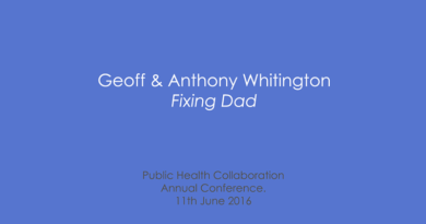 PHC Annual Conference 2016 – Geoff & Anthony Whitington