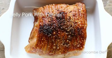 Belly Pork With Fennel Seeds
