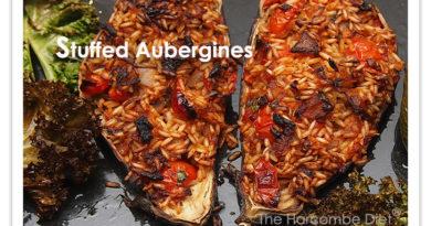 Stuffed Aubergines
