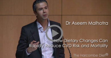 Dr Aseem Malhotra – How dietary changes can rapidly reduce CVD risk and mortality